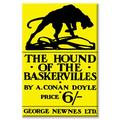 Buyenlarge The Hound of The Baskervilles #4 Graphic Art on Wrapped CanvasCanvas & Fabric in White, Size 36.0 H x 24.0 W x 1.5 D in | Wayfair