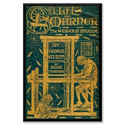 Buyenlarge 'Silas Marner; The Weaver of Raveloe' Painting Print on Wrapped CanvasCanvas & Fabric in Brown/Green/Yellow   Wayfair 0-587-21459-7C2030