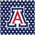 Thirstystone University of Arizona Square Occasions Trivet in Blue, Size 8.0 H x 0.35 D in | Wayfair FT-UAZ3