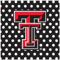 Thirstystone Texas Tech University Square Occasions Trivet in Black, Size 8.0 H x 0.35 D in | Wayfair FT-TXTCH3