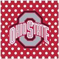Thirstystone Ohio State University Square Occasions Trivet Cork in Red, Size 8.0 H x 0.35 D in | Wayfair FT-OHST2