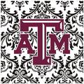 Thirstystone Texas A & M University Square Occasions Trivet in Black, Size 8.0 H x 0.35 D in | Wayfair FT-TXAM4