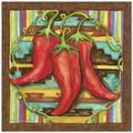 Thirstystone Chilis Occasions Trivet in Brown/Red/Yellow, Size 8.0 H x 0.35 D in | Wayfair FT-SD10