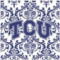Thirstystone Texas Christian University Occasions Trivet in White, Size 8.0 H x 0.35 D in | Wayfair FT-TCU3
