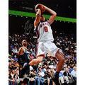 NBA New York Knicks Danilo Gallinari White Jersey Shot in Mid Air vs. Magic Photograph, 6x20-Inch