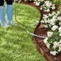 "Everedge Landscape Lawn Edging - Brown, 5"" Tall, Set Of 5: 16' Length - Grandin Road"