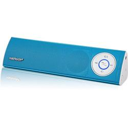 Naztech N35 Klub Wireless Bluetooth A2DP Stereo Speaker for Apple iPhone/iPad/Samsung S5/S4/Note 3/4 and More - Blue
