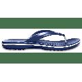 Crocs Navy Crocband™ Flip Shoes