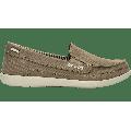 Crocs Khaki / Stucco Women'S Walu Canvas Loafer Shoes