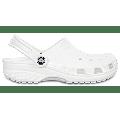 Crocs White Classic Clog Shoes