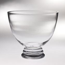 Majestic Crystal Footed Decorative BowlGlass & Crystal, Size 9.38 H x 10.63 W x 10.63 D in | Wayfair T-760-11