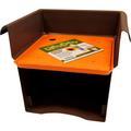 Bloem Ups A Daisy Square Planter Insert LinerPlastic in Orange, Size 0.75 H x 10.75 W x 10.75 D in | Wayfair TS6321