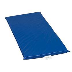 "Children's Factory Rainbow 2"" Thick Nap MatVinyl in Blue, Size 2.0 H x 24.0 W x 48.0 D in   Wayfair CF350-019"