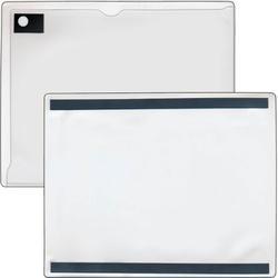 "StoreSMART - Magnetic Closure Pocket - Magnetic-Back - 10-Pack - White - 8.5"" x 11"" (MCP8511MB-PQW-10)"