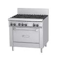 "Garland GFE36-6R 36"" 6 Burner Gas Range w/ Standard Oven, Liquid Propane"
