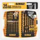 DEWALT Drill Bit Set. Titanium Drill Bit Set (14-Piece) DW1354