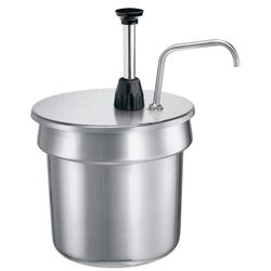 Server 87680 Condiment Pump Only w/ 2 oz/Stroke Capacity, Stainless