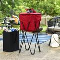 Household Essentials 48 Can Standing Ice Cooler in Red, Size 33.0 H x 18.1 W x 18.1 D in | Wayfair 2170-1
