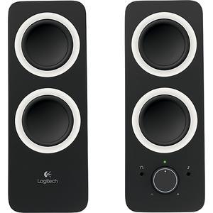 Logitech Z200 2.0 Multimedia Speakers (2-Piece)