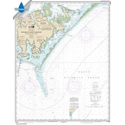 NOAA Chart 11544: Portsmouth Island to Beaufort: Including Cape Lookout Shoals 35 x 44 (Waterproof)