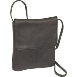 Le Donne Leather Small Flap Over Shoulder Bag T-783