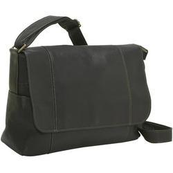 Le Donne Leather Flap Over Shoulder Bag LD-5004