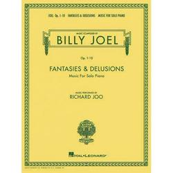 Billy Joel - Fantasies & Delusions: Music for Solo Piano, Op. 1-10 (Paperback)