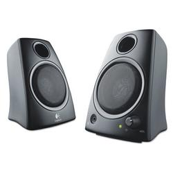 Logitech Z130 Compact 2.0 Stereo Speakers, 3.5mm Jack, Black
