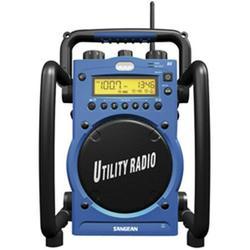 SANGEAN U3R Digital AM/FM Water-Resistant Utility Radio with Alarm
