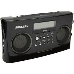 Sangean Pr-D5Bk Black Am/Fm Stereo Rbds Radio Di gital Tuning