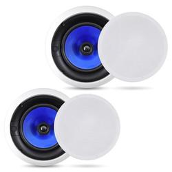 Pyle Audio 6.5 Inch 2 Way 250W Flush Mount Hi Fi In Wall Ceiling Speakers, Pair