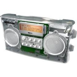 CLEAR AM/FM-RBDS PORTABLE RADIO