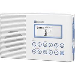 FM/AM BT WATERPROOF RADIO 10 PRESETS CLOCK SLEEP TIMER