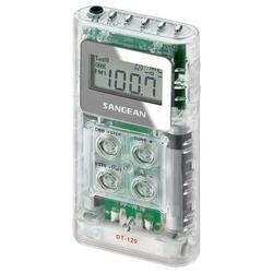 Sangean® Dt-120 Clear Pocket Am/fm digitl Radio (clear)