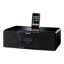 Sangean DDR-63 - Audio system with iPod cradle