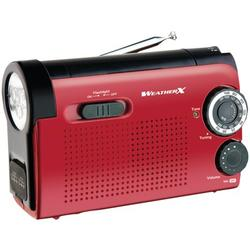 WeatherX Weatherband AM/FM Radio and Flashlight, WR182R