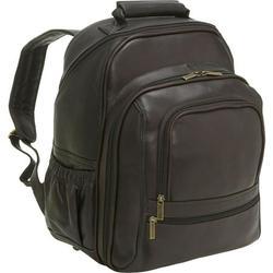 Le Donne Leather Vachetta Large Laptop Backpack T-620B-R