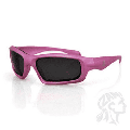 SEATTLE SUNGLASS, CRYSAL SILVER FRAME, SMOKED LENS