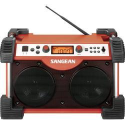 Sangean-FB-100 Fatbox - Portable radio - 14 Watt - red