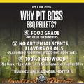 Pit Boss All Natural Hardwood Pellets - Hickory, Size 26.0 H x 16.0 W x 4.0 D in | Wayfair 55436
