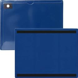 "StoreSMART - Magnetic Closure Pocket - Magnetic-Back - 10-Pack - Blue - 8.5"" x 11"" (MCP8511MB-PQB-10)"
