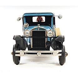 Old Modern Handicrafts Decorative 1931 Ford Model A Tow Truck 1:12 Metal in Blue/White, Size 6.0 H x 6.0 W x 16.8 D in | Wayfair AJ028