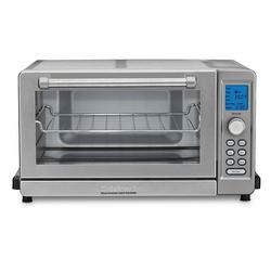 Cuisinart Deluxe Convection Toaster Oven Broiler, Silver