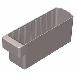 "AKRO-MILS 31142GREY Gray Drawer Bin, 11-5/8""L x 3-3/4""W x 4-5/8""H"