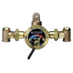 LEONARD VALVE TMS-80-RF Steam and Water Mixing Valve,Brass