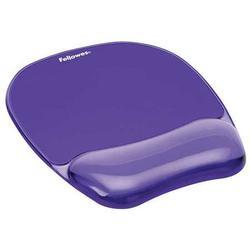 FELLOWES 91441 Mousepad w/Wrist Support,Purple