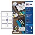 Avery C32015-10 Printable Double-Sided Business Cards, 80 cards / 260g Mat, 85x54 mm
