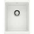 "Blanco 513422 Precis 13-3/4"" Undermount Single Basin SILGRANIT Kitchen Bar Sink White"