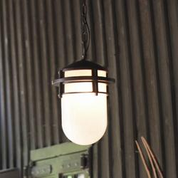 """Hinkley Reef 1 -Bulb 15"""" H Mains Only Outdoor Pendant Metal in Brown, Size 15.0 H x 9.0 W x 9.0 D in   Wayfair 1952VZ"""
