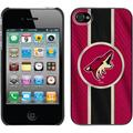 Phoenix Coyotes Jersey Stripe Design on iPhone 4s/4 Thinshield Snap-On Case by Coveroo